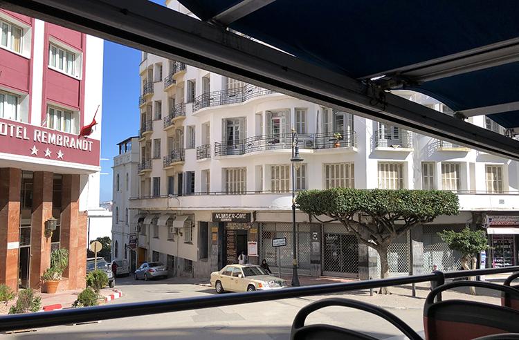 Le Number One et l'Hôtel Rambrand