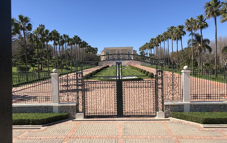 Le Palais de réception du Roi à Marshan
