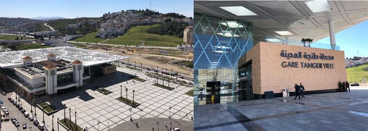 La nouvelle gare TGV de Tanger-Ville