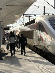 Mon premier voyage avec «Al boraq» entre Tanger-Rabat en 1h20…