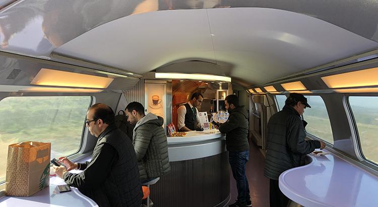 Cafeteria du TGV
