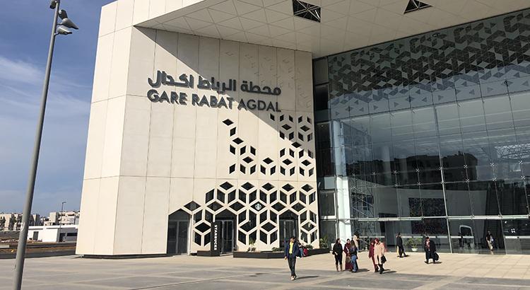 La nouvelle gare de Rabat Agdal