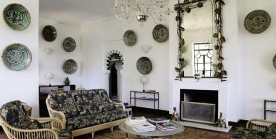 Jasper Conran, propriétaire de la maison d'Yves Saint Laurent à Tanger