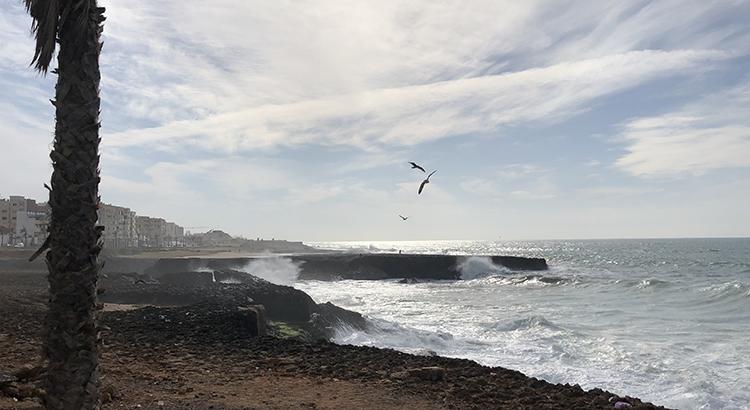 L'océan à Rabat