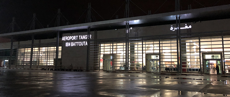 Aéroport Ibn Battouta à Tanger
