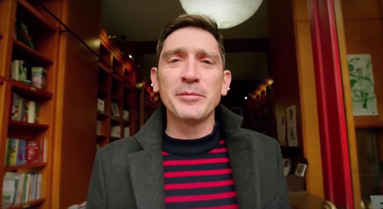 Simon-Pierre Hamelin de la librairie des Colonnes