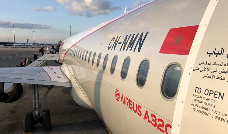 Vol Air Arabia au depart de Lyon pour Tanger