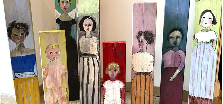 Catherine Renaud Baret s'expose chez Conil à Tanger