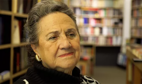 Rachel Muyal, l'égérie du Tanger littéraire.
