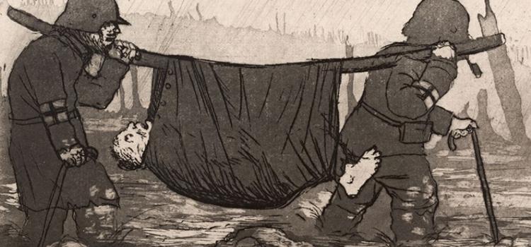 Otto Dix et ses gravures des années 1920, à voir à la Galerie Delacroix.