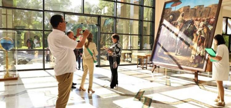 La palette marocaine d'Eugène Delacroix revisitée.
