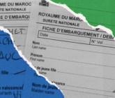 Fin des fiches au Maroc depuis le 16 septembre.
