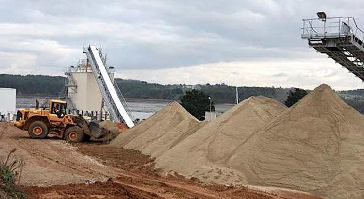 La disparition du sable