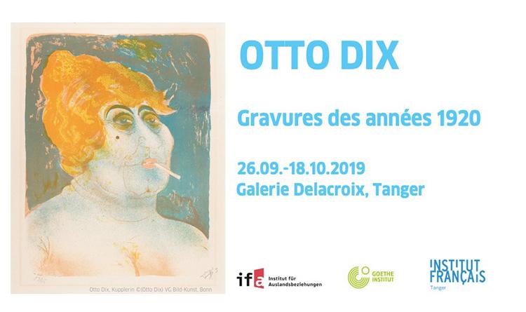 Otto Dix à la Galerie Delacroix de Tanger