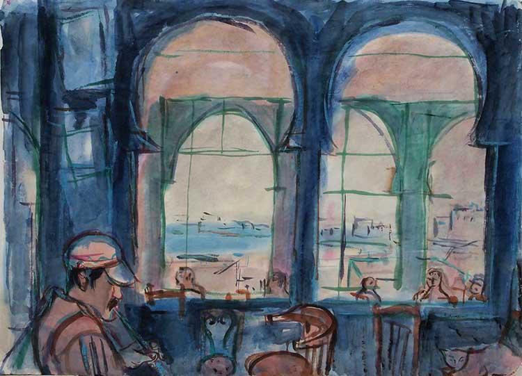 Café Baba à Tanger