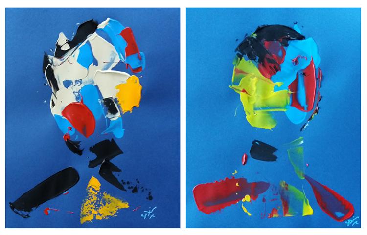 Deux oeuvres de Salaheddine Bouanani