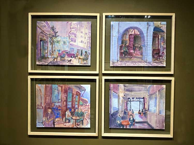 4 oeuvres de Julien Solé présentées à la Galerie Conil