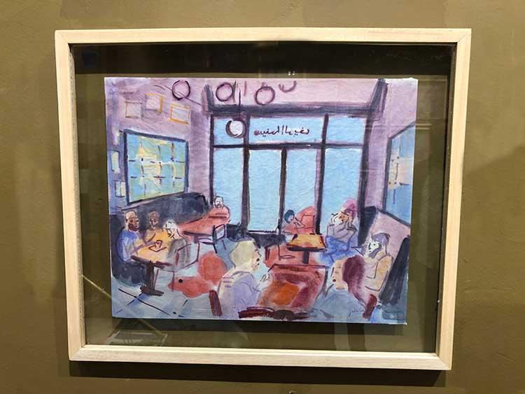 Café de la cinémathèque de Julien Solé