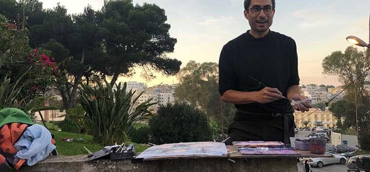 Julien Solé revisite l'orientalisme à Tanger.