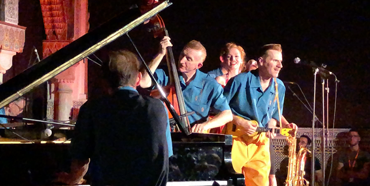 The Jive Aces à Tanjazz