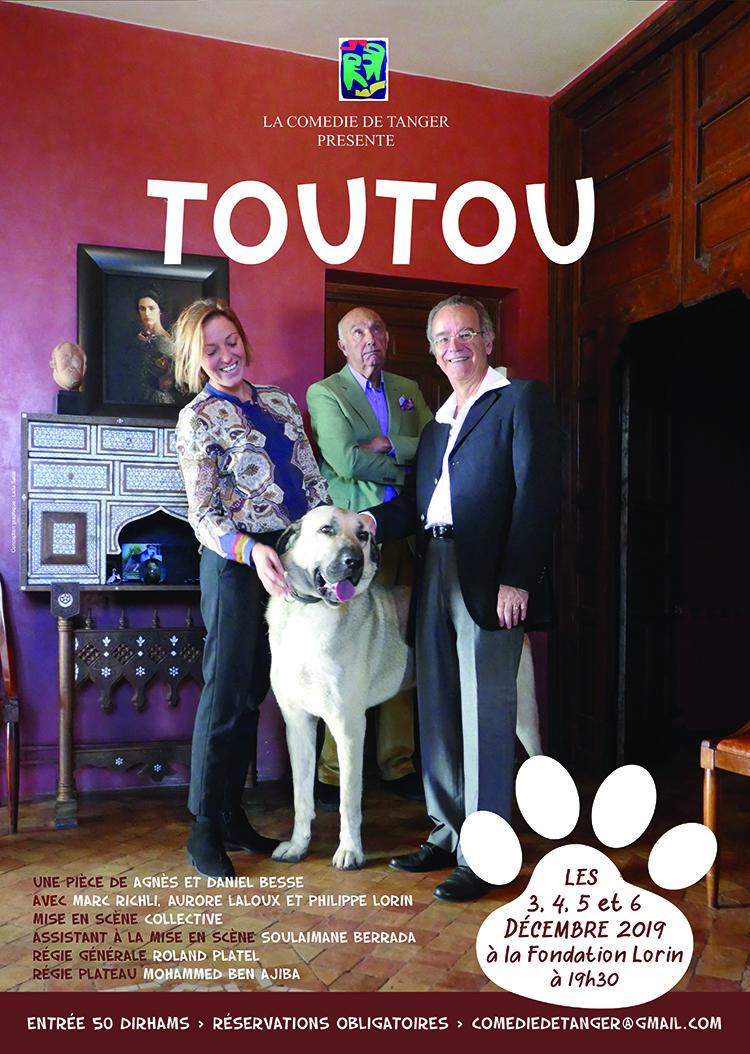 tanger-experience -  le web magazine de Tanger -  « Toutou », l'histoire d'un couple qui se retrouve face à lui même…