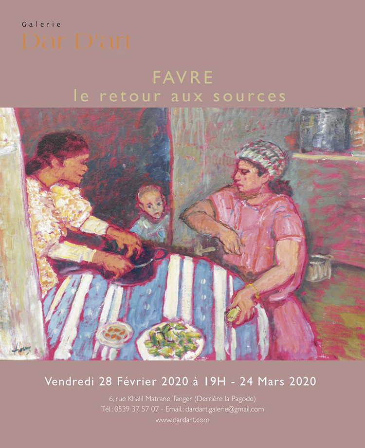 tanger-experience - le web magazine de Tanger - Favre chez Dar d'Art