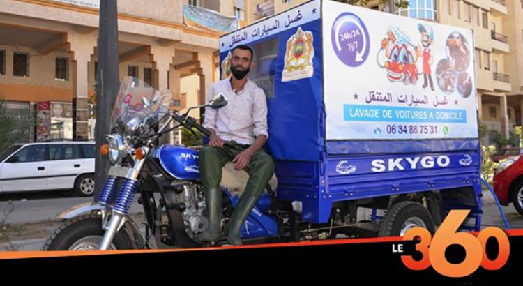 tanger-experience - le web magazine de Tanger - Le lavage mobile à Tanger