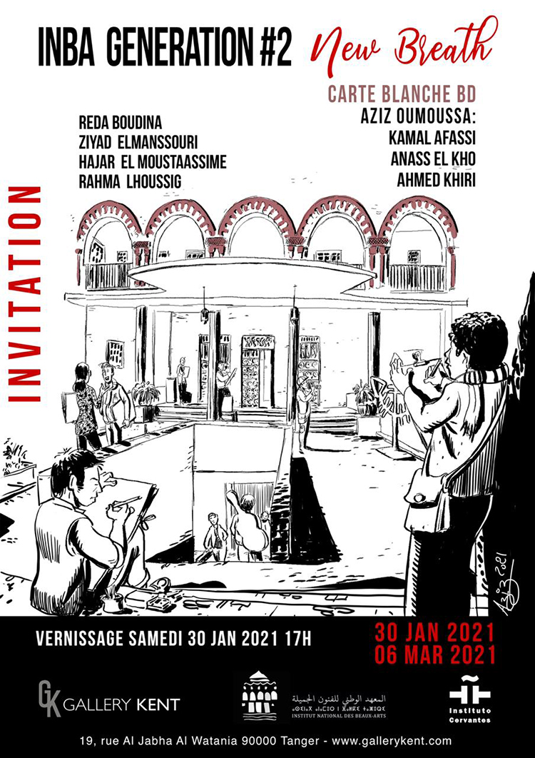 tanger-experience - le web magazine de Tanger - Expo New Breath à la Gallery Kent
