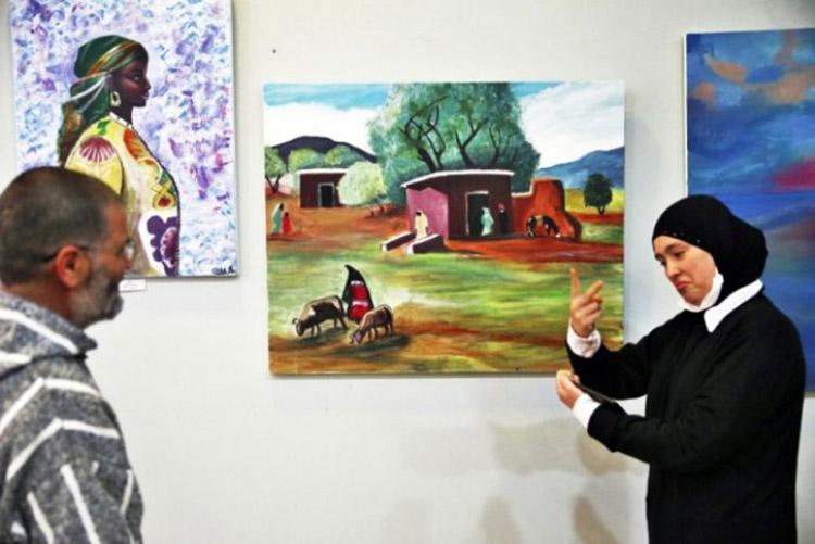 tanger-experience - le web magazine de Tanger - Expo enfants sourds à Tanger