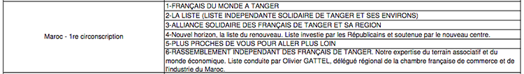 anger-experience - le web magazine de Tanger -  Elections consulaires - Tanger 2021