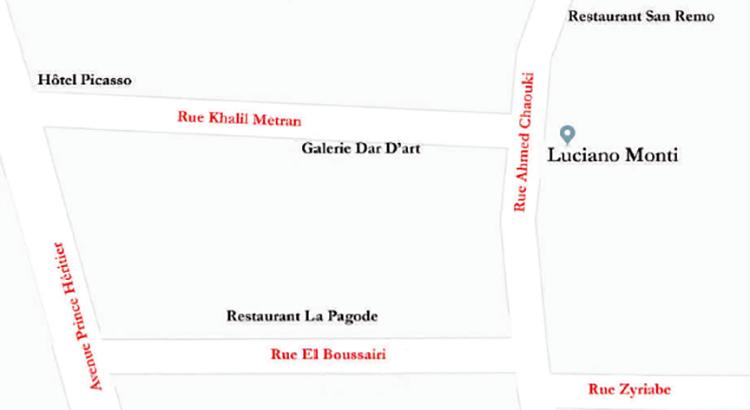 tanger-experience - le web magazine de Tanger -  Vente Luciano Monti de mai 21