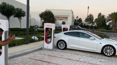 tanger-experience - le web magazine de Tanger - Premiers surperchargeurs Tesla à Tanger
