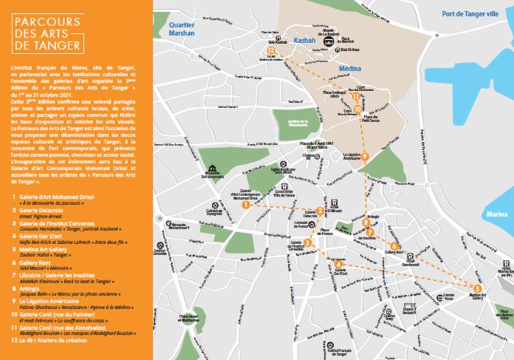 tanger-experience - le web magazine de Tanger - Parcours des arts de Tanger 2021